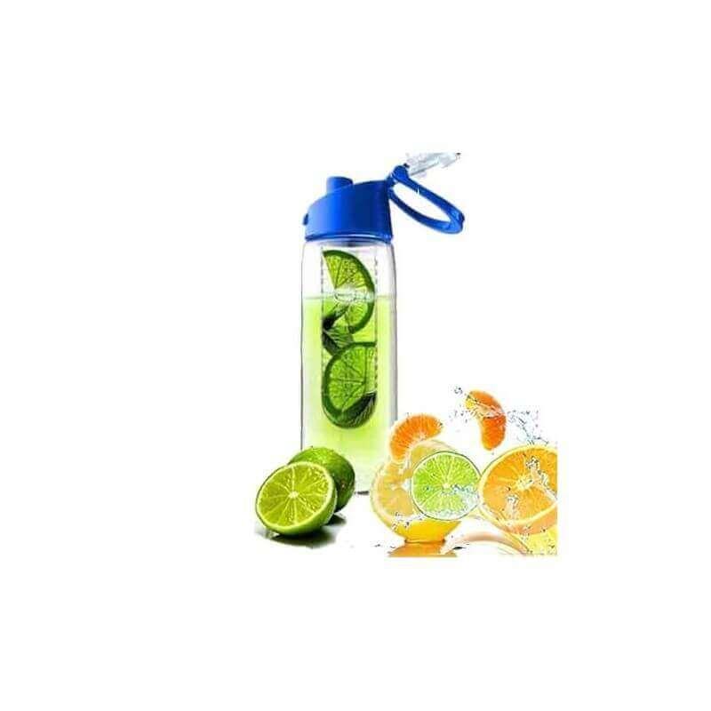 """Fruchtflasche """"Trinkflasche mit Fruchteinsatz"""" Blau"""