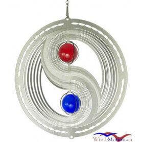 Yin Yan (18cm) campane a vento in acciaio inossidabile