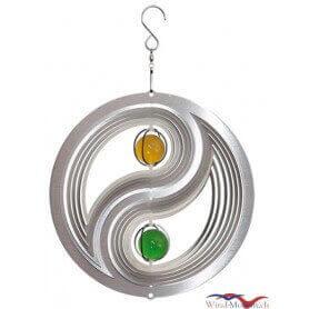 Yin Yan (20cm) campane a vento in acciaio inossidabile