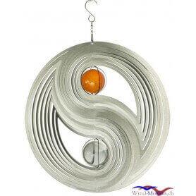 Yin Yan (30cm) campane a vento in acciaio inossidabile