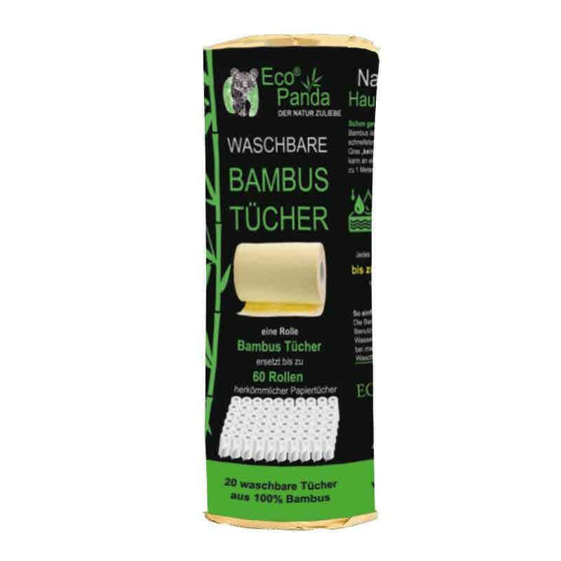 """Bambus Küchenrolle XXL """"Waschbar"""""""