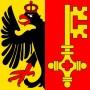 Kantonsfahne Genf 120x120