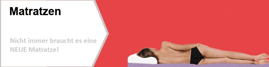 Dreampur® Viscoelastische Matratzenauflage für einen gesunden Schlaf.
