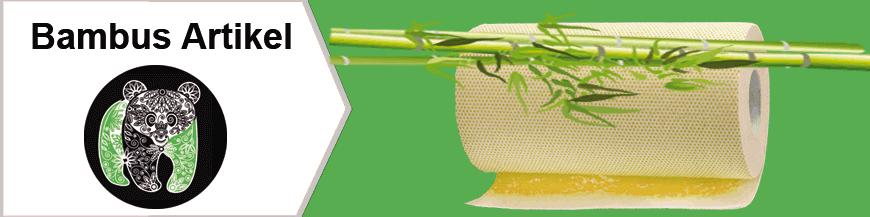 Bambus Tücher und Bambus WC Papier aus ECO freundlicher Produktion