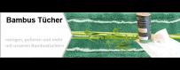 Die Baumbustücher bestechen durch eine hohe Schmutz- und Wasseraufnahme und lösen selbst stärkste Verschmutzungen. Die Bambus Kristall und Ecobasia Bambustücher, Ecopanda und EcoBambus Bambustücher sind bekannt von Märkten und Messen in der Schweiz.
