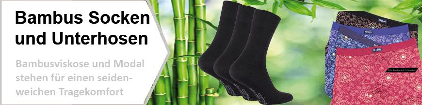 Bambus Socken und Unterhosen